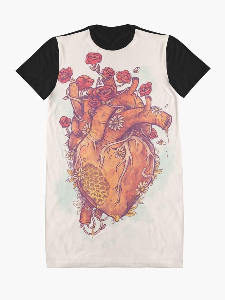 Alternate view of Sweet Heart Graphic T-Shirt Dress
