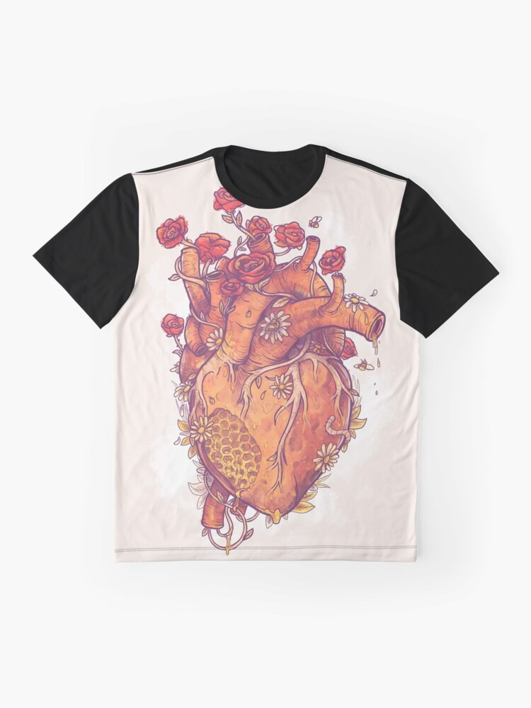Alternate view of Sweet Heart Graphic T-Shirt