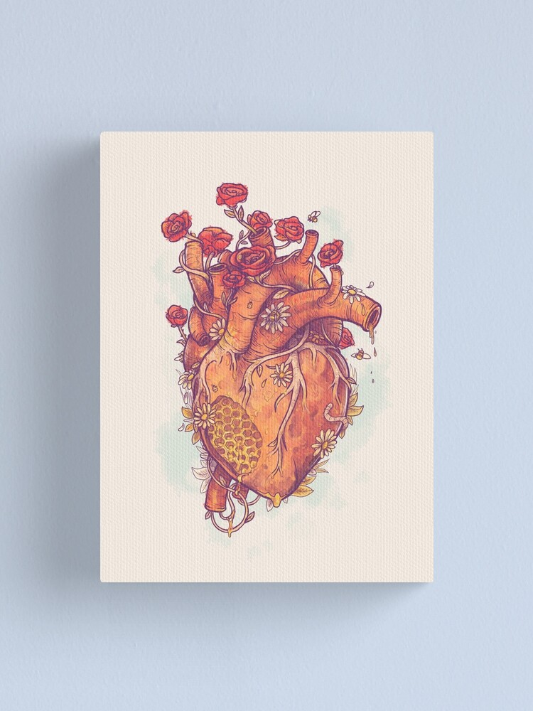 Alternate view of Sweet Heart Canvas Print