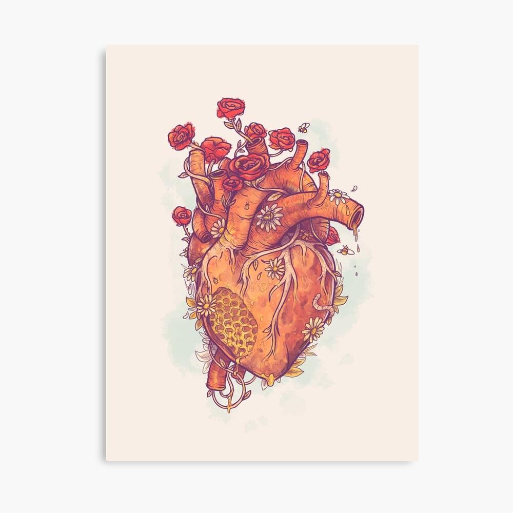 Dulce corazón Lienzo