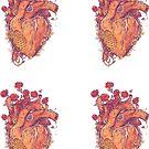 Sweet Heart Sticker 4-pack by MathijsVissers