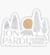 California Sunrise Sticker