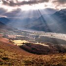 Rays of light over Buttermere by RamblingTog