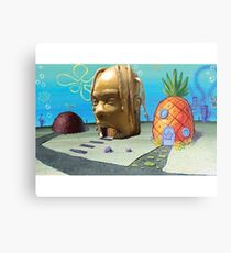 Astroworld spongebob cover Metal Print
