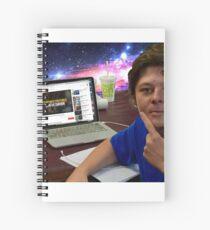 Ponders of The Boy Genius Spiral Notebook