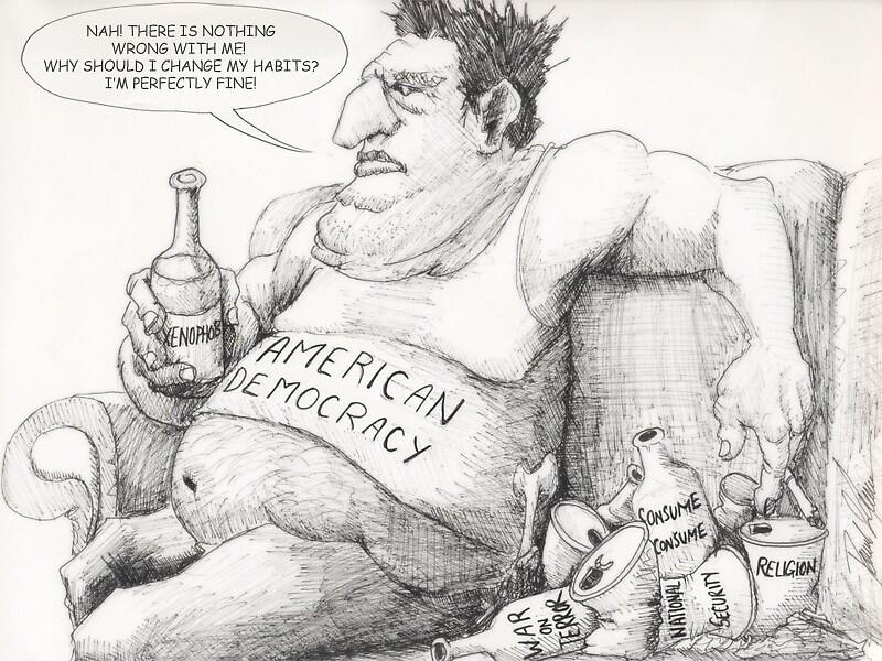 American Democracy by liquidnerve