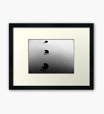 Hop Scotch. Framed Print