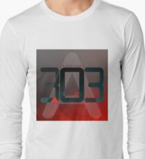 D-White Noise - A 303 Long Sleeve T-Shirt