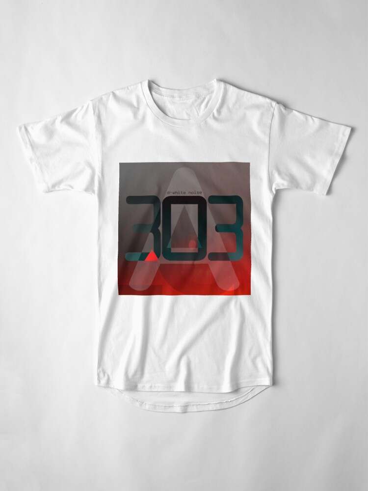 Alternate view of D-White Noise - A 303 Long T-Shirt