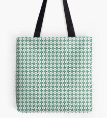 """Motif """"Petits carrés verts"""" Tote bag"""