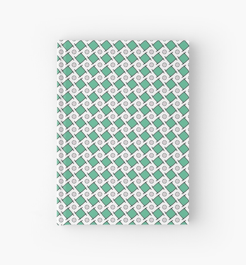 "« Motif ""Petits carrés verts"" » par RosaLeeDesign"
