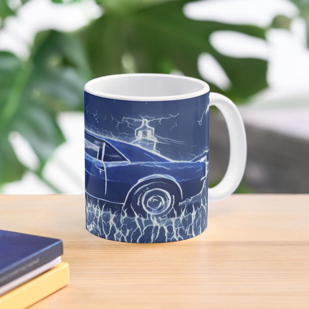 1967 Chevrolet Camaro SS Blue Electric  Mug