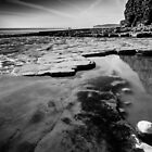 Playing on Llantwit Major Beach, Wales, UK by Heidi Stewart