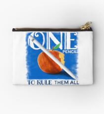 One Pencil to Rule Them All Zipper Pouch