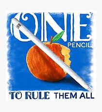 One Pencil to Rule Them All Photographic Print