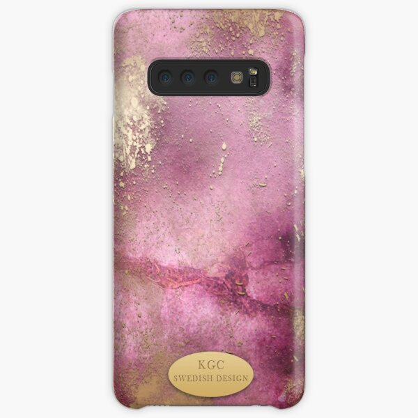 Mobile Pink Gold Samsung Galaxy Snap Case
