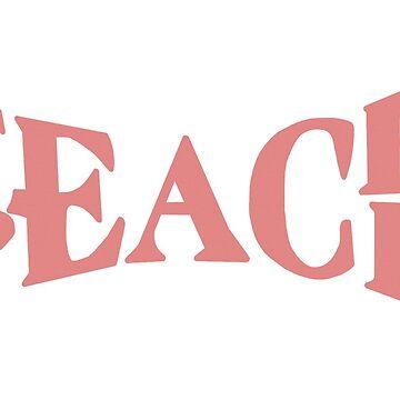 Teach peace by Maridac
