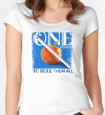 One Pencil to Rule Them All Fitted Scoop T-Shirt