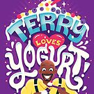 Terry loves yogurt by Risa Rodil