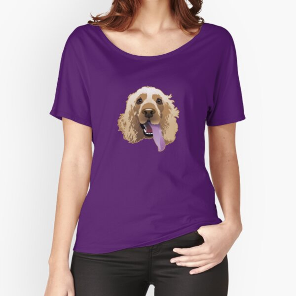 Brandie Puppy Carmine Relaxed Fit T-Shirt