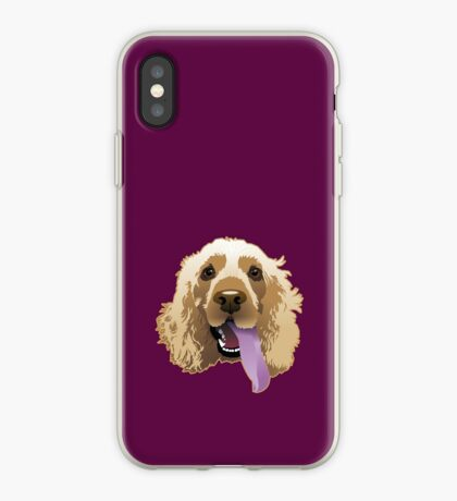 Brandie Puppy Carmine iPhone Case