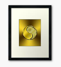 Dragon Yang Metal Framed Print