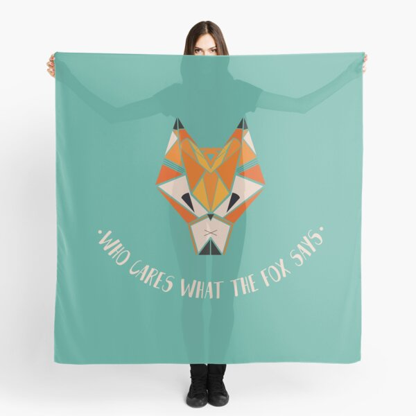 What Does The Fox Say?  Scarf