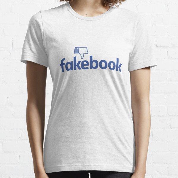 Facebook Fakebook Essential T-Shirt