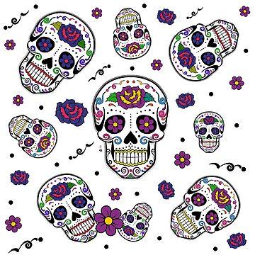 Sugar skull by hagalart