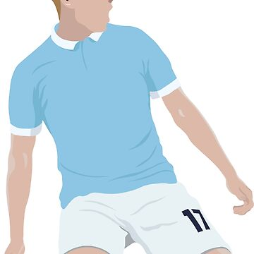 KDB - Man City  by DanDobsonDesign