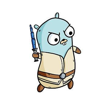 Gopher of the galaxies - Golang by maestromakhan