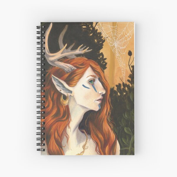 Of The Ways Spiral Notebook