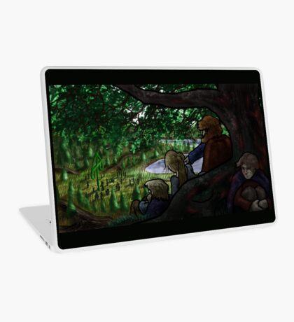 Norse Midsummer: People Watching Laptop Skin