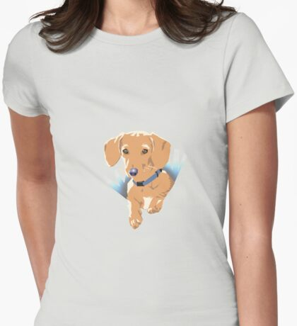 Pocket Puppy Purple T-Shirt