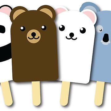 Bear Popsicle by EyeSeeMS