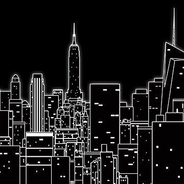 Big city light by cartoonblog