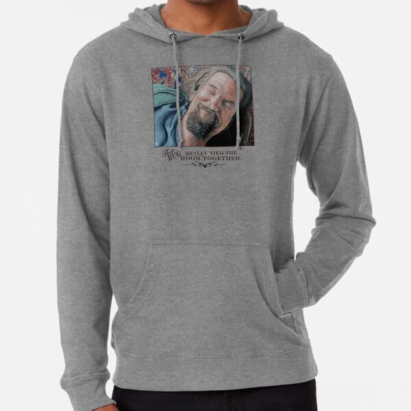 That Rug Really Tied the Room Together Lightweight Hoodie