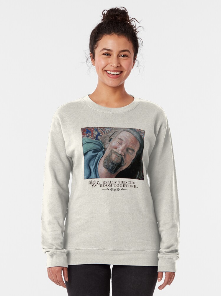 Alternate view of That Rug Really Tied the Room Together Pullover Sweatshirt