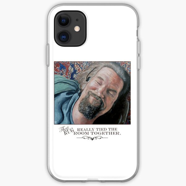 That Rug Really Tied the Room Together iPhone Soft Case