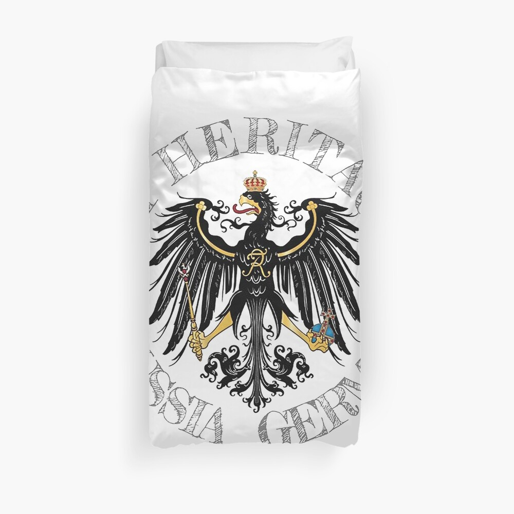 My Heritage.. Prussia, Germany Duvet Cover