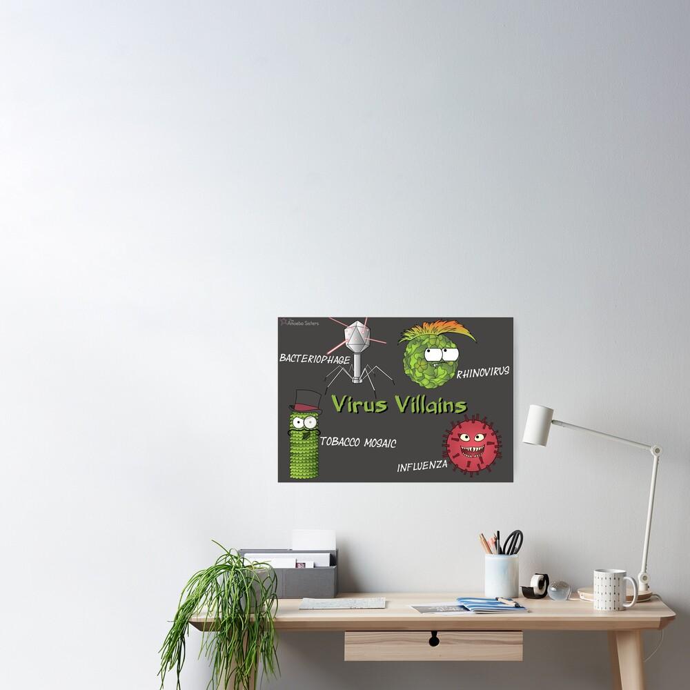 Tobacco Mosaic Virus Villain Poster