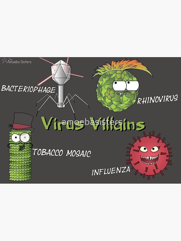 Tobacco Mosaic Virus Villain by amoebasisters