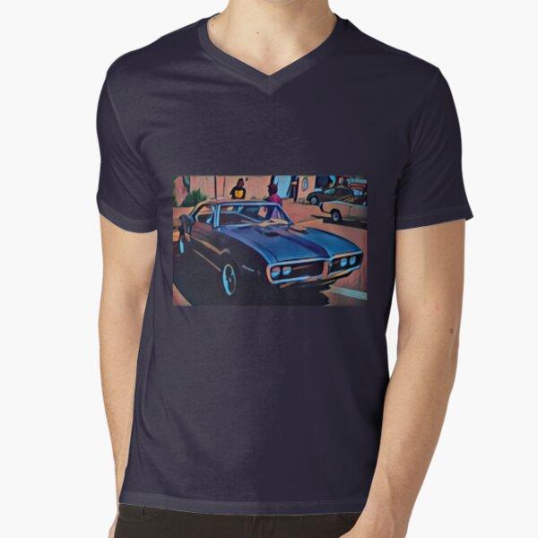 1968 Pontiac Firebird V-Neck T-Shirt