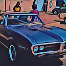 1968 Pontiac Firebird by Fran Lafferty