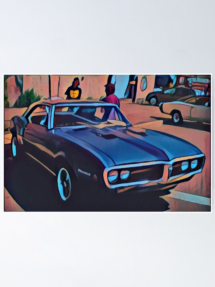 Alternate view of 1968 Pontiac Firebird Poster