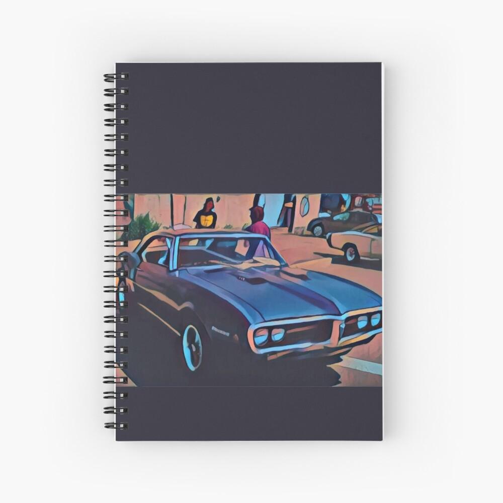 1968 Pontiac Firebird Spiral Notebook