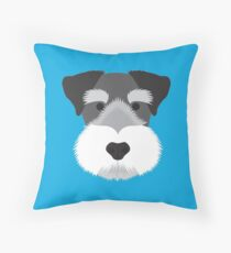 Miniature Schnauzer Floor Pillow
