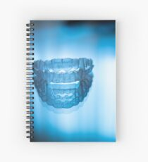 Invisible dental teeth aligners Spiral Notebook