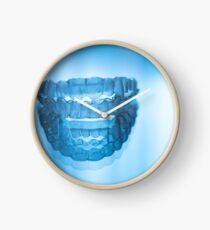 Invisible dental teeth aligners Clock