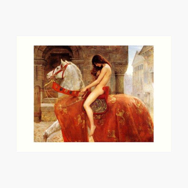 Lady Godiva. By John Collier, c. 1897. Art Print